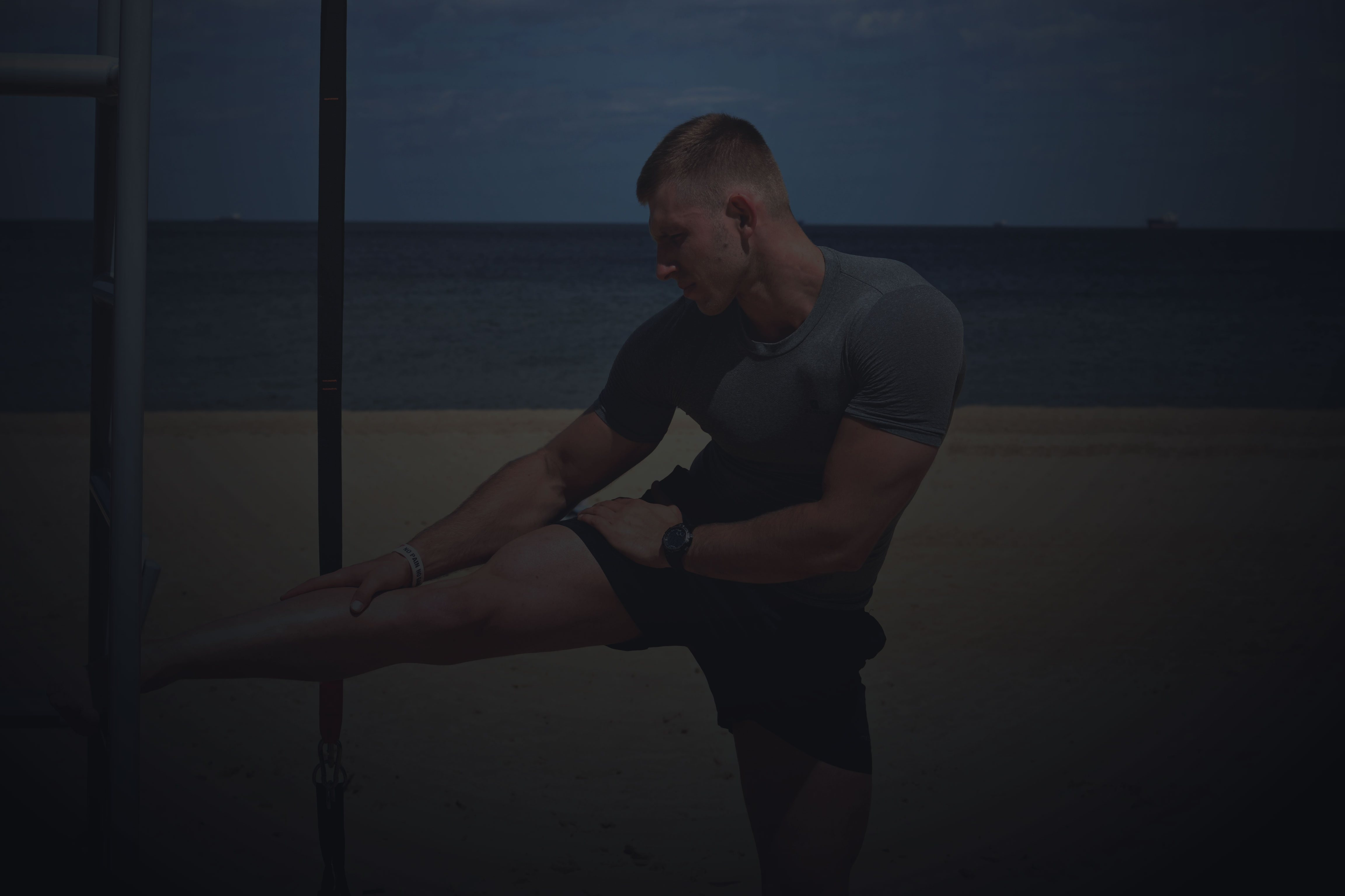 Łukasz Kończak - trener personalny - zdjęcie siłownia Trójmiasto