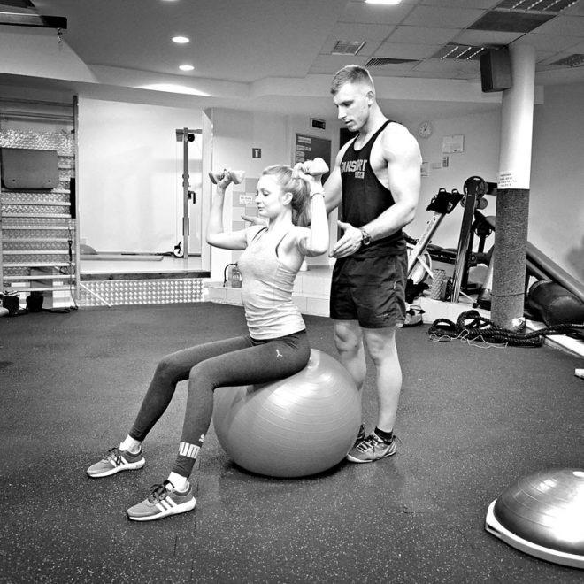 Trening online - Łukasz Kończak klub