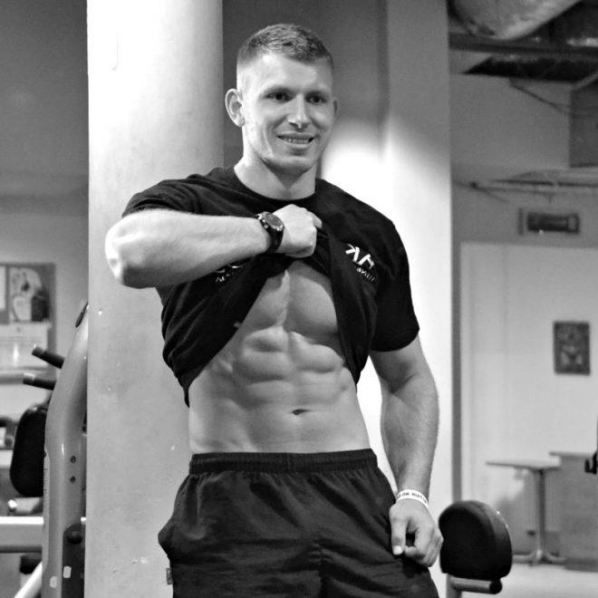 Trening personalny - trener Łukasz Kończak mięśnie brzucha