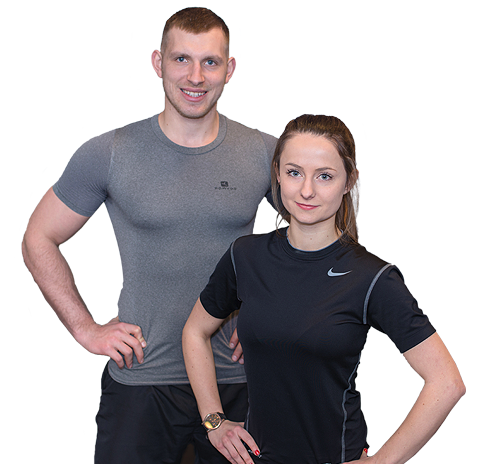 Łukasz Kończak i Monika Kranich