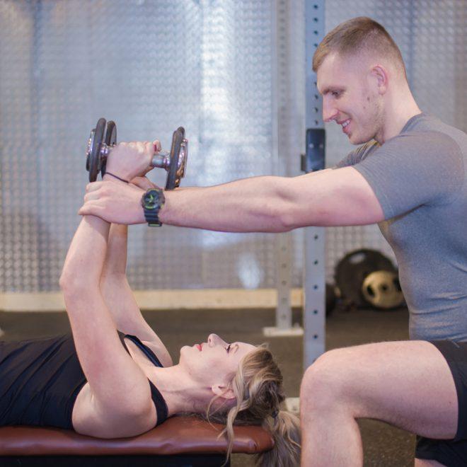 Trening klatki piersiowej - trener personalny Gdańsk