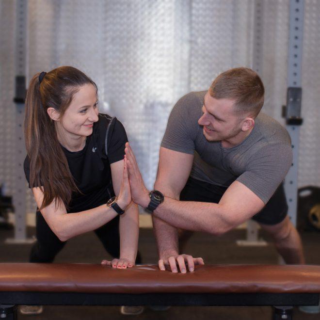 Trener personalny Gdańsk, trening w parach